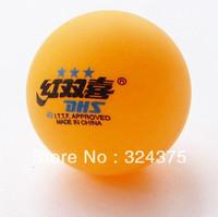 5 boxes (30Pcs)-3 stars DHS 40MM Olympic Table Tennis Orange Ping Pong Balls