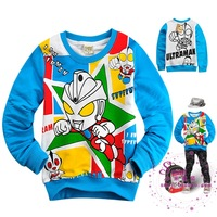 Cotton cartoon 100% 2013 ottoman children's male child clothing spring and autumn new arrival long-sleeve T-shirt baby top