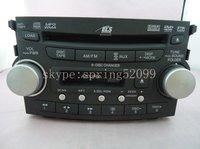 Original new Acu TL 2007 2008 6-DISC chaner CD/DVD MP3 WMA AUX AM FM cassette radio 39100-SEP-A600 DVD audio oem factor
