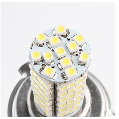 100 шт/много h4 102 smd 350lm белый свет Светодиодные лампы для автомобиля туман лампы ems