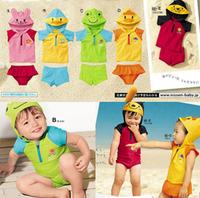 Male female child animal style split swimwear child swimwear baby swimwear baby