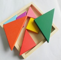 Children's educational toy wooden high quality Tangram