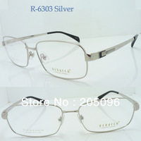 Wholesale R6310, R6303 man ultra big size nickel copper full-rim common hinge square prescription optical frames free shipping