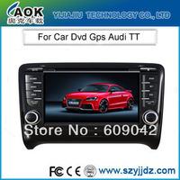 Car DVD GPS for Audi TT 2006-2011 Audio Video Plalyer with 3G USB Port Radio Bluetooth PIP SWC V-CDC