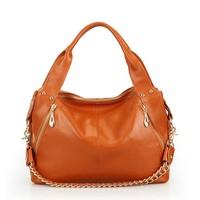 2013 fashion cowhide chain bag /portable shoulder cross-body women's handbag bags /free shipping