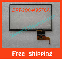 "10pcs/lot 7"" capacitive touch screen digitiger touch panel glass for JXD S7100 Tablet PC/MID DPT-300-N3576A Free shipping"