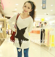 Lowest price juniors clothing autumn 2013 clothes school wear long-sleeve T-shirt honey sisters equipment