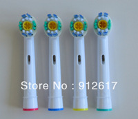 wholesale 4000pcs eb18-4 EB-18A pro bright electric neutral pack toothbrush heads 4 soft bristles (1pack=4pcs)