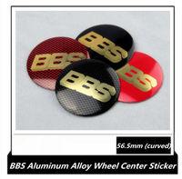 Car Wheel Center Hub Caps Emblem Decal Sticker 56.5mm, BBS 6 styles available 4pcs/set wheel center stickers