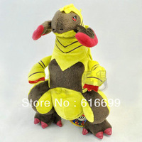 Haxorus plush 12 inch:1pcs  Axew Fraxure Evolution Dragon Plush  Pokemon Plush stuffed toys:  Good quality  In stock