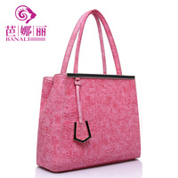 New arrival 2013 portable women's cross-body handbag doodle unique women's cross-body handbag style bags