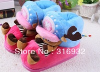 L5 Free Shipping plush Children's One Piece Jopper Antlers anime cosplay slippers 1pc