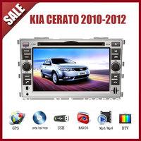 KIA Cerato 2010-2012 CAR GPS DVD Player HD Screen with GPS IPOD TV AM/FM Bluetooth