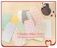 Wholesale 12 Mixed Designs 12.5*6.5cm Cute Paper Gift Envelopes NJ-G135 Free Shipping 300pcs/lot