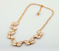 Fashion fashion accessories natural shell beautiful butterfly women's necklace