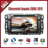 Chevrolet Impala 2006-2011 CAR GPS DVD Player HD Screen with GPS IPOD TV AM/FM Bluetooth