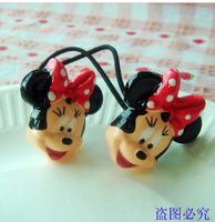 Min $10 Polka dot cartoon child hair clips hair pin bb clip edge clip female child baby hair accessory hair accessory hair rope