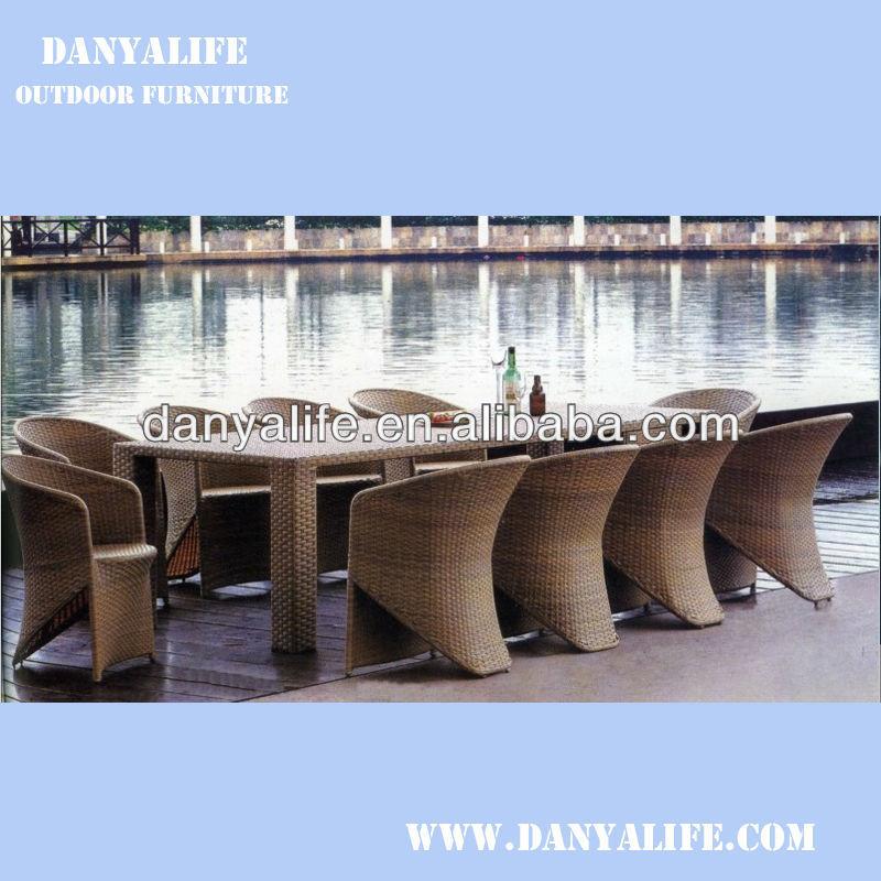 Outdoor Restaurant Sofa Chair Rattan Wicker Cane Lounge ...