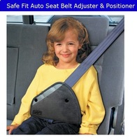 Free shipping Safe fit thickening car safety belt adjust device baby child safety belt protector seat belt positioner 2-14years