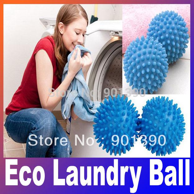 Washing Eco Laundry Ball Magnetic Soft Fresh Fabric wash Washing Dryer Balls Hot sale Free Shipping(China (Mainland))