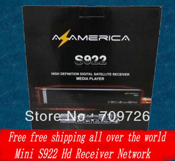 MooncakeMooncakeFast delivery For South America Satellite Receiver azamerica twin tuner Mini s922 HD Technology set top box