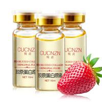 Pure collagen liquid 10ml 2 bottle anti aging whitening moisturizing downplay finelines constringe firming