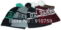 1 pc High quality Cheap Winter Warm Basketball Football Baseball Knitted Dope Diamond Beanie hat Men's Women's Beanies Skullies