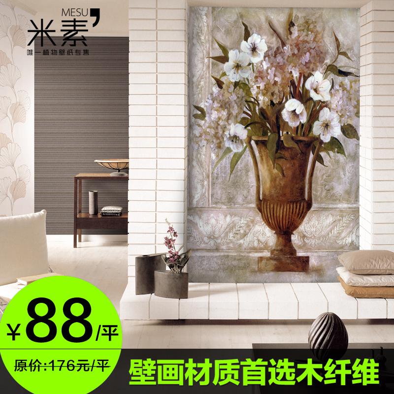 3 d wallpaper large mural wallpaper ou porch tv setting for Digital mural wallpaper