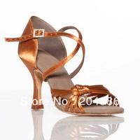 "N-93-5 new style Ladies Ballroom latin dance shoe Free shipping worldwide 3"" heel height on picture"