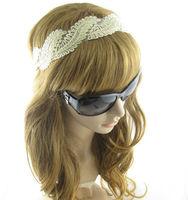 Gold Screwy  Lace  Women's Hair Accessory  Headwrap wide  HairBand