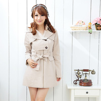 new 2013 coat winter Broadened mm plus size 193 winter plus size trench women's zipper fashion dress paragraph trench outerwear