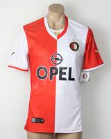 wholesale Feyenoord jersey 2014 Home 13 14 Soccer uniforms Futebol shirt Blank