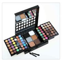 Hot sale! NEW Professionnal 78color mix matte eyeshadow palette