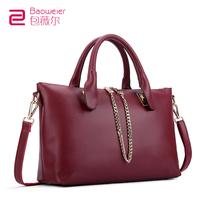 Bag fashion female 2013 anne caldwell chain cowhide women's handbag messenger bag women's bags female shoulder bag