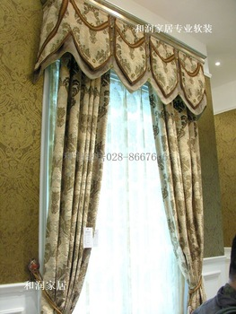 thick velvet  curtains livingroom  bedroom curtain