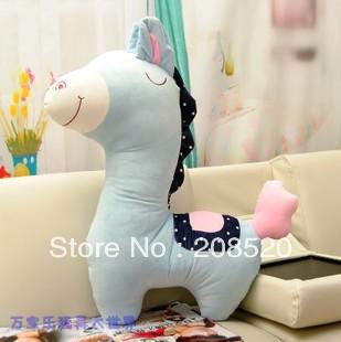 AD046 free shipping 40'' 100CM stuffed horse/big soft plush stuffed animals/plush toy pillow cushion for lovers/kids as gift(China (Mainland))