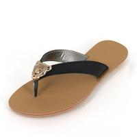 2013 flip flops slippers flat heel flat slip-resistant summer comfortable slippers female shoes