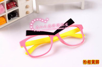 Kid Sunglasses Frames, 10pcs/lot Children Eyewear, Plastic eyeglasses, Apparel Accessory, Lovely Bird style Free shipping YJ10