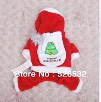 New arrival,pet clothing,Santa Claus Hooded Dress clothes pet clothing dog clothes autumn and winter fashion pet clothes
