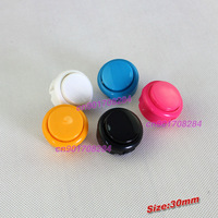 30mm Arcade Push Button Replace For Sanwa OBSF-30 Push Button 5 Colors Available
