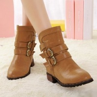 ON Sale promotion Boots women boots female spring and autumn short boots flat martin boots female fashion single  cheap HOT