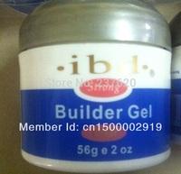 free shipping lowest price Acrylic Nail Art UV Gel nail saloon profesional nail art IBD Builder Gel 2oz / 56g mix color ok