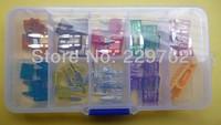 Free Shipping 50PC 5,10,15,20,25,30A Mini Car & Auto Fuse Kit/Assortment/Set