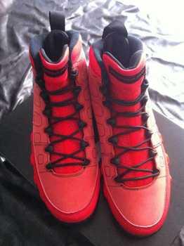 Men's basketball shoes  9 MOTORBOAT JONES RED Raging Bull 302370-645  sz 8-13