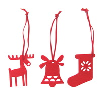 Free Shipping - New Outdoor Christmas Decorations 2013 - Types of Felt Christmas Figurines Designs - Customizable