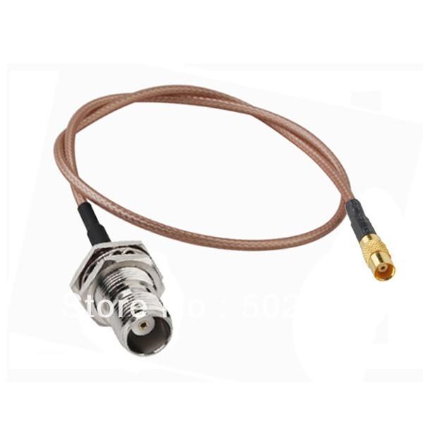10pcs/lot 20cm RF Extension cable TNC Female bulkhead to MCX Female RG316 Cable(China (Mainland))
