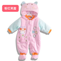 2014 baby newborn baby clothes winter rompers children clothing set baby overalls winter clothing sets jacket clothes romper