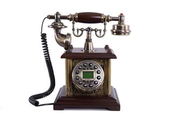 Hot selling resin antique decorative china antique telephone set MS-1100B