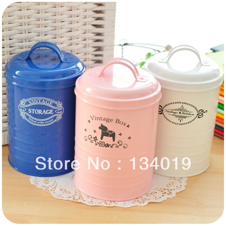 Pequeno fresco , estilo de postagem , latas de ferro , latas de armazenamento , latas de doces, com tampa , estanho(China (Mainland))