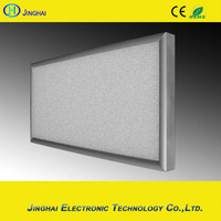 European market 220v 500w white carbon crystal infrared heating panel winter heater
